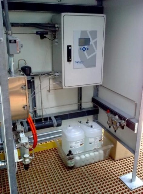 Biotector設置例